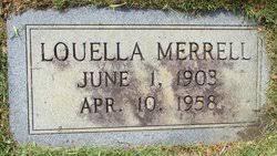 Louella Smith Merrell (1903-1958) - Find A Grave Memorial