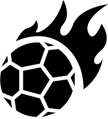 Flaming Soccer Ball Vinyl Decal Car Sticker Car Decals Vinyl Vinyl Decals Soccer Ball