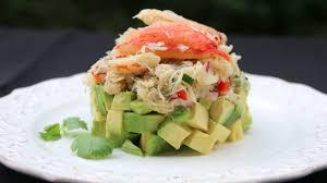 Crab avocado stack salad – Laylita's ...