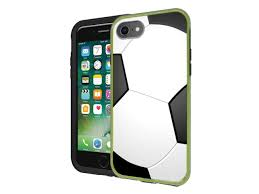 Protective Designer Vinyl Skin Decals For Lifeproof Slam Iphone 7 Iphone 8 Case Soccer Design Pattern Only Skins And Not Case By Teleskins Newegg Com