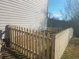 French Gothic 4ft Picket Fence Hermitage Tn