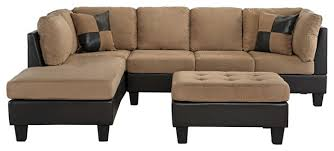 faux leather sectional sofa with chaise