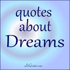 dream quotes from literature blog
