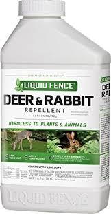 Liquid Fence Deer Rabbit Repellent Concentrate 32 Ounces Esbenshades