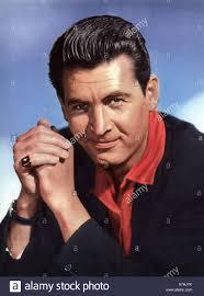 FESS PARKER US film actor Stock Photo - Alamy