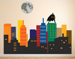 City Wall Decal Etsy