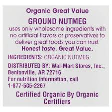 ground nutmeg 1 8 oz walmart