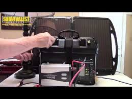 build a diy portable solar generator