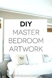 paintings for master bedroom walls
