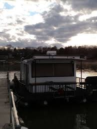 1967 houseboat homemade by college of