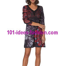 dress tunic fl ethnic winter