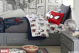 Chest With Drawers Shams Shared Spaces Spiderman Bedroom Pottery Barn Kids
