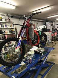 building a race bike according to
