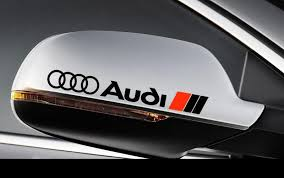 Product 2 Audi Side View Mirror Decal Sticker Rs3 Rs4 Rs6 A3 A4 A6 A8 Tt
