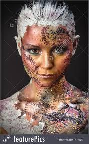 photo of bird fantasy makeup