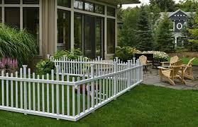Amazon Com Zippity Outdoor Products Zp19001 Madison Vinyl Picket Fence White 30 X 56 1 Box 2 Panels Garden Outdoor