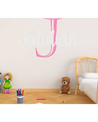 New Deal Alert Boy S Custom Name And Initial Wall Decal Choose Your Own Name Initial And Letter Styles Multiple Sizes Bedroom Decoration Nursery Wall Decal Boy S Nursery Room Boy S Name Wall Decal