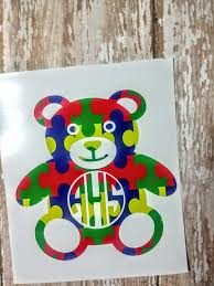Autism Decal Medical Decal Yeti Cup Decal Autism Etsy