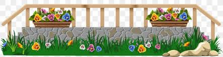 Borders And Frames Picket Fence Lawn Clip Art Png 6170x1589px Borders And Frames Fence Flower Flower