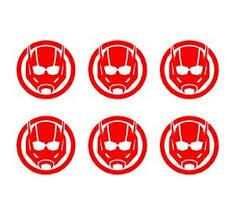 Ant Man Set Of 6 Vinyl Decals Marvel Ant Man Logo Stickers Ebay