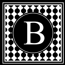 Enchantingly Elegant Letter B Wall Decal Wayfair