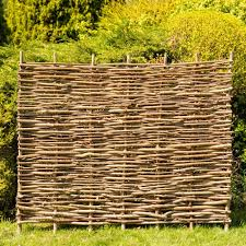 Hazel Hurdles Fencing Panel 1 82m X 1 37m 6ft X 4ft 6in By Papillon 49 99
