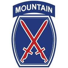 10th Mountain Division Vinyl Decal Usamm