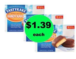 with 1 39 tastykake snacks at target