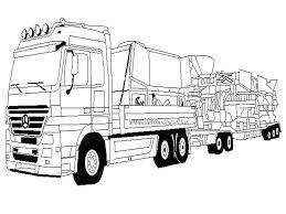 Kleurplaten Vrachtwagen Kleurplaat