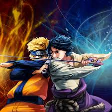 Naruto + Sasuke Uchiha 5 Piece Canvas Wall Art – Vigor and Whim