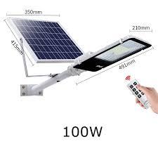 5pcs 100w solar flood light spotlight