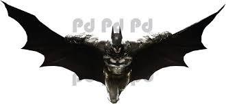 Arkham Knight Batman Wall Mural Flying Batman Wall Decal B26 Batman Decal