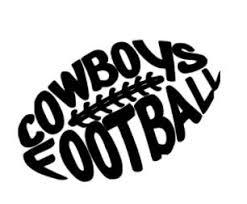 Cowboys Football Vinyl Decal Cargoh
