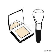vector make up s set face