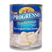 progresso soup new england clam