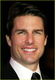 Tom Cruise Teeth Off Center Teeth Foto von Heidie