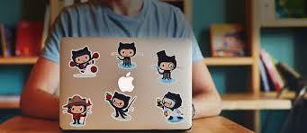 Laptop Stickers Sticker Mule