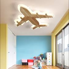 boys bedroom flush ceiling light wood