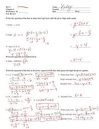 test review ws answers