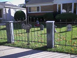 How To Make A Halloween Cemetery Fence The Cemetery Fence I Made