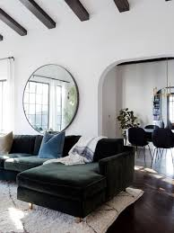 15 ways to use a round mirror in your