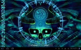 skull live wallpaper android apps