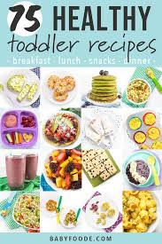 toddler meals healthy easy recipes
