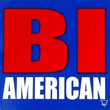 Bi American Bisexual Bi Pride 3x3 Inch Car Bumper Sticker Decal Pride Shack