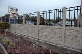 Eco Friendly And Durable Faux Stone Fence By Simtek