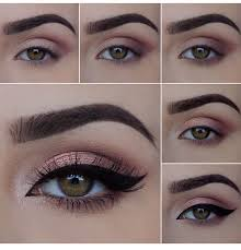 rose gold eye make pictorial by