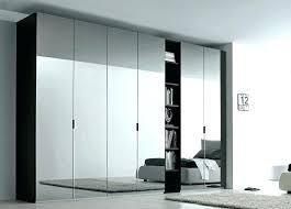ikea wardrobe closet with mirror white