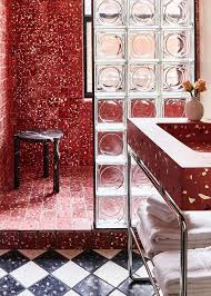 glass block in décor cheesy or
