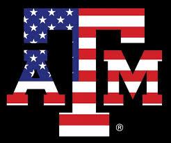 College Depot Car Decals American Flag Texas A M