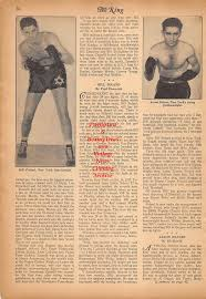 Boxing News Clipping #246 - Bill Poland, Aaron Seltzer, Oscar Calles, Ralph  Zannelli